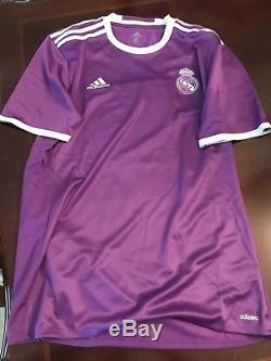 Real Madrid Player Issue Ramos Benzema Ronaldo Era Adizero Shirt Match Jersey
