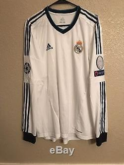 Real Madrid Player Issue Ronaldo Era Kit Formotion Xl Match Unworn Shirt Jersey