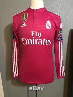 Real Madrid Prepared Kroos CL 6 Player Issue Adizero Match Unworn Football Shirt