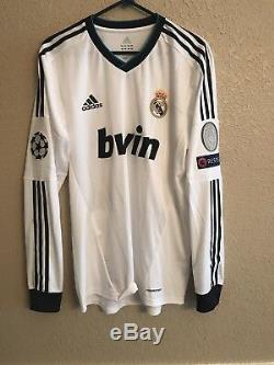 Real Madrid Ramos Ronaldo Player Issue Formotion Match UnWorn Shirt large jersey