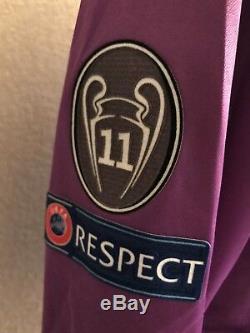 Real Madrid Ramos Spain Player Issue Adizero Shirt Match Unworn Football Jersey