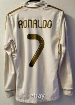 Real Madrid Ronaldo 11/12 Home Jersey / Shirt (Size S)