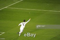 Real Madrid Ronaldo 2011 Copa del Rey Final Match Formotion Player issue jersey