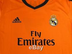 Real Madrid Ronaldo 2013-2014 Formotion player issue Champions League jersey