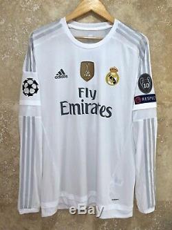 Real Madrid Ronaldo 2015-2016 Champions League adizero player version jersey