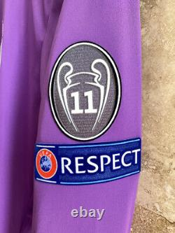 Real Madrid Ronaldo 2017 Champions League Final Cardiff Climacool jersey size M