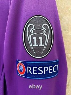 Real Madrid Ronaldo 2017 Champions League Final Cardiff player issue jersey