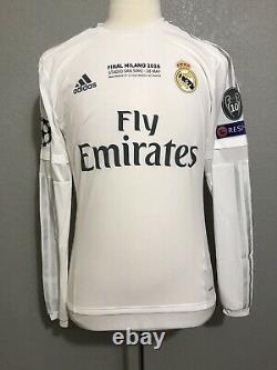 Real Madrid Ronaldo 8 Juventus CL Adizero Match Issue Football Jersey