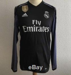 Real Madrid Ronaldo 8 Juventus Player Issue Adizero Prepared Shirt CL Jersey