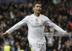 Real Madrid Ronaldo 8 Player Issue Match Issue Adizero Shirt Football Jersey