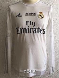 Real Madrid Ronaldo 8 Portugal Player Issue Adizero Match Prepared Unworn Jersey