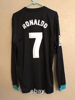 Real Madrid Ronaldo Adidas Player Issue Adizero Shirt Football Soccer Jersey