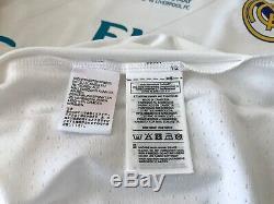 Real Madrid Ronaldo Champions League 2018 Final Kyiv adizero player issue jersey