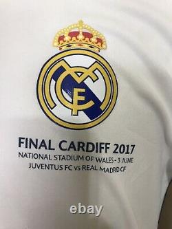 Real Madrid Ronaldo Champions Player Issue Adizero Match Unworn Jersey Shirt