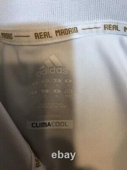 Real Madrid Ronaldo Era MD Champions League Jersey Adidas Climacool Soccer Shirt