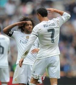 Real Madrid Ronaldo Football Player Issue Adizero Prepared Match Unworn Shirt