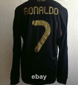 Real Madrid Ronaldo Formotion Player Issue Football Jersey Soccer Shirt