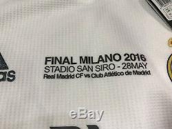 Real Madrid Ronaldo Juve Small Climacool CL Football Shirt Soccer Adidas Jersey