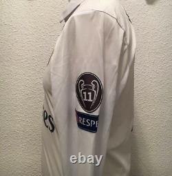 Real Madrid Ronaldo Juve Super Cup Player Issue Adizero MatchUnworn Jersey Shirt