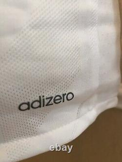 Real Madrid Ronaldo Juventus CL Adizero Prepared Match Issue Football Jersey