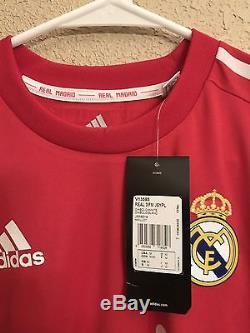 Real Madrid Ronaldo, Ramos Era Player Issue Formotion Match Unworn Shirt Jersey