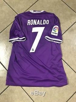 a6d8ce74 Real Madrid Ronaldo Spain Player Issue Adizero Shirt Match Unworn Jersey