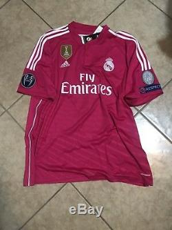 Real Madrid Ronaldo XXL Champions League Jersey Adidas Climacool Soccer Shirt