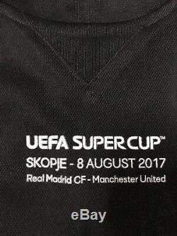 Real Madrid Ronaldo uefa Supercup Player Issue Adizero Shirt No Formotion Jersey