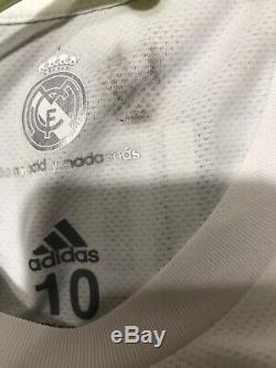 Real Madrid Sergio Ramos CL Player Issue Adizero Shirt Football Jersey