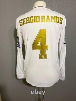 Real Madrid Sergio Ramos Spain Player Issue Climachill Shirt Football Jersey