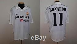 Real Madrid Shirt Jersey Ronaldo Brazil Barcelona Inter Ac Milan Italy Maglia