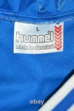 Real Madrid Spain 1988/1989 Away Football Shirt Jersey Hummel #10 Size L Adult