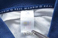 Real Madrid Spain 1998/1999/2000 Home Football Shirt Jersey Adidas Guti #14