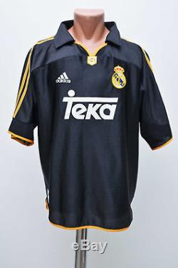 new product c72d8 ed091 Real Madrid Spain 1999/2000 Away Football Shirt Jersey ...
