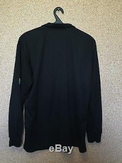 Real Madrid Spain 2002/03 Away Football Shirt Camiseta Jersey Long Sleeve Adidas
