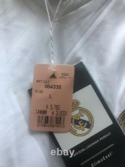 Real Madrid Spain 2005/2006 Home Football Soccer Jersey Adidas Size Mens Large