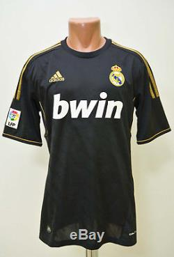 Real Madrid Spain 2011/2012 Away Football Shirt Jersey Adidas Alonso #14 M Adult