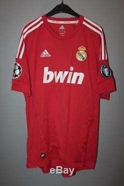 Real Madrid Spain 2011/2012 Third Football Shirt Jersey Camiseta Champion League