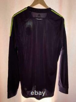 Real Madrid Spain 2012/2013 Player Issue Away Football Shirt Jersey L/s Adidas