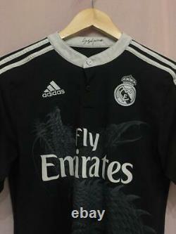 Real Madrid Spain 2013/2014 Third Football Shirt Jersey Camiseta Size S Adidas