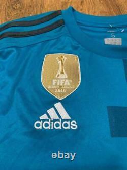 Real Madrid Spain 2017/2018 Third Football Shirt Jersey Camiseta Sz S Ronaldo #7