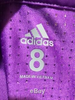 Real Madrid Spain Adidas Player Issue 8 Adizero Shirt Football Soccer Jersey