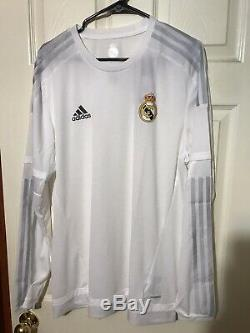 Real Madrid Spain Adidas Player Issue Adizero Sz 6 Shirt Football Soccer Jersey
