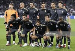 Real Madrid Spain CL Raul M Football Shirt Player Issue Formotion Adidas Jersey