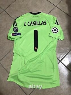 Real Madrid Spain Casillas Fc Porto Player Issue Formotion Football Shirt Jersey