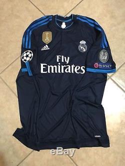 Real Madrid Spain Player Issue Adizero Match Prepared Unworn Ronaldo 8 Jersey