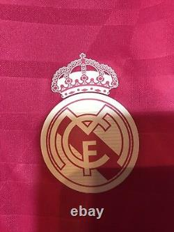 Real Madrid Spain Ronaldo 10 Juventus Player Issue Jersey Adizero Football Shirt