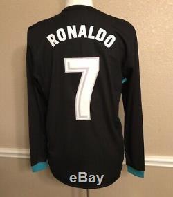 Real Madrid Spain Ronaldo 8 Juventus Player Issue Shirt Prepared Adizero Jersey