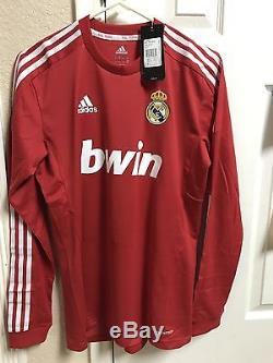 Real Madrid Spain Ronaldo Formotion Player Issue Shirt Match Unworn Jersey