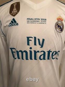 Real Madrid Spain Ronaldo Portugal L Football Shirt Climacool Adidas jersey